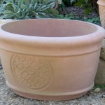 "#034 Oval Cloud Planter, Length: 25 1/2""; width: 23""; Height: 15"" (91 lbs.)"