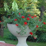 "#064 Jackson Urn, Dia.: 20 3/4""; Height: 20"", Graceful and simple, this newest urn design has great lines!"