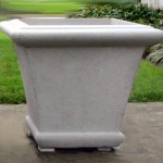 "#065B Square Fairfield Giant, w/o handle. Dia., Exterior: 31 3/8"" x 31 3/8""; height: 26 3/4"""