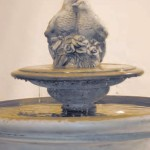 "#344-4 Russell Fountain with Birds on Tier, Height: 44 1/2""; Dia.: 32 1/2"" (278 lbs)"