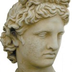 #401 Bust of Apollo (43 lbs.)