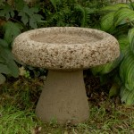 "#508 Two Piece Birdbath, 12"" H x 16"" Dia. (36 lbs.)"