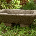 "#506 Flare Rectangle on Planter Feet #509 sold separately, 6"" H x 13"" W x 22"" L (28 lbs.)"