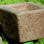 "#514 Flare Planter Trough, 12"" x 12"" x 9 1/2"" H (22 lbs.)"