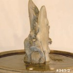 "#343-2 Fairfield Fountain with Fish, Dia.: 41""; Height: 32 1/2"" (450 lbs.), #343 A Fish Sculpture, Height: 24"" (75 lbs.)"