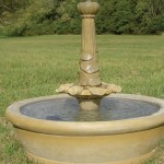 "#371-2 Lotus Acanthus Fountain, Dia.: 48""; Height: 37"""