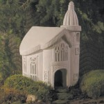 "#361 Toad Chapel, 12 1/2"" L x 9"" D x 14"" H (36 lbs.) Perfect for a Toad Wedding!"