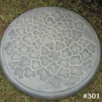 "#301 CLOUD STEPPING STONE, 20"" Diameter (39 lbs.)"