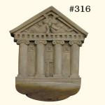 "#316 CLASSIC BUNNY BIRD FEEDER 10"" H x 7-1/2"" W x 4"" D (3-1/2 lbs.)"