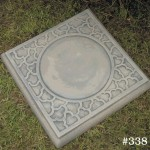 "#338 SQUARE CLOUD STEPPING STONE, 15-1/2"" Square, 1-1/2"" Thick (25 lbs.)"