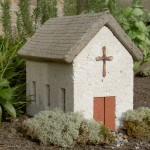 "#546 Village Church, 14 1/2"" x 9 1/2"" x 12 1/2"" H (42 lbs.)"