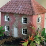 "#552 Jasmine Cottage, approximately 14.5"" x 9.5"" x 12"" H (26 lbs.)"