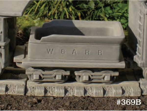 "#369B Coal Car/Planter, 13"" L x 5 1/3"" W x 5 3/4"" T (10 lbs.)"