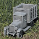 "#365 Tom's Farm Truck/Planter, 15"" L x 6 1/4"" W x 8"" T (18 lbs.)"