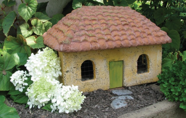 """#534B Tuscan Sunflower Cottage, approximately 14 1/2"""" x 9 1/2"""" x 10"""" H (21 lbs.)"""